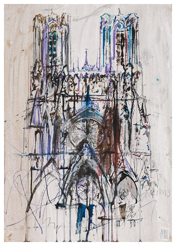 Klaus Hollauf. Kathedrale von Reims