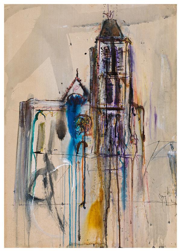 Klaus Hollauf. Kathedrale von Saint Denis