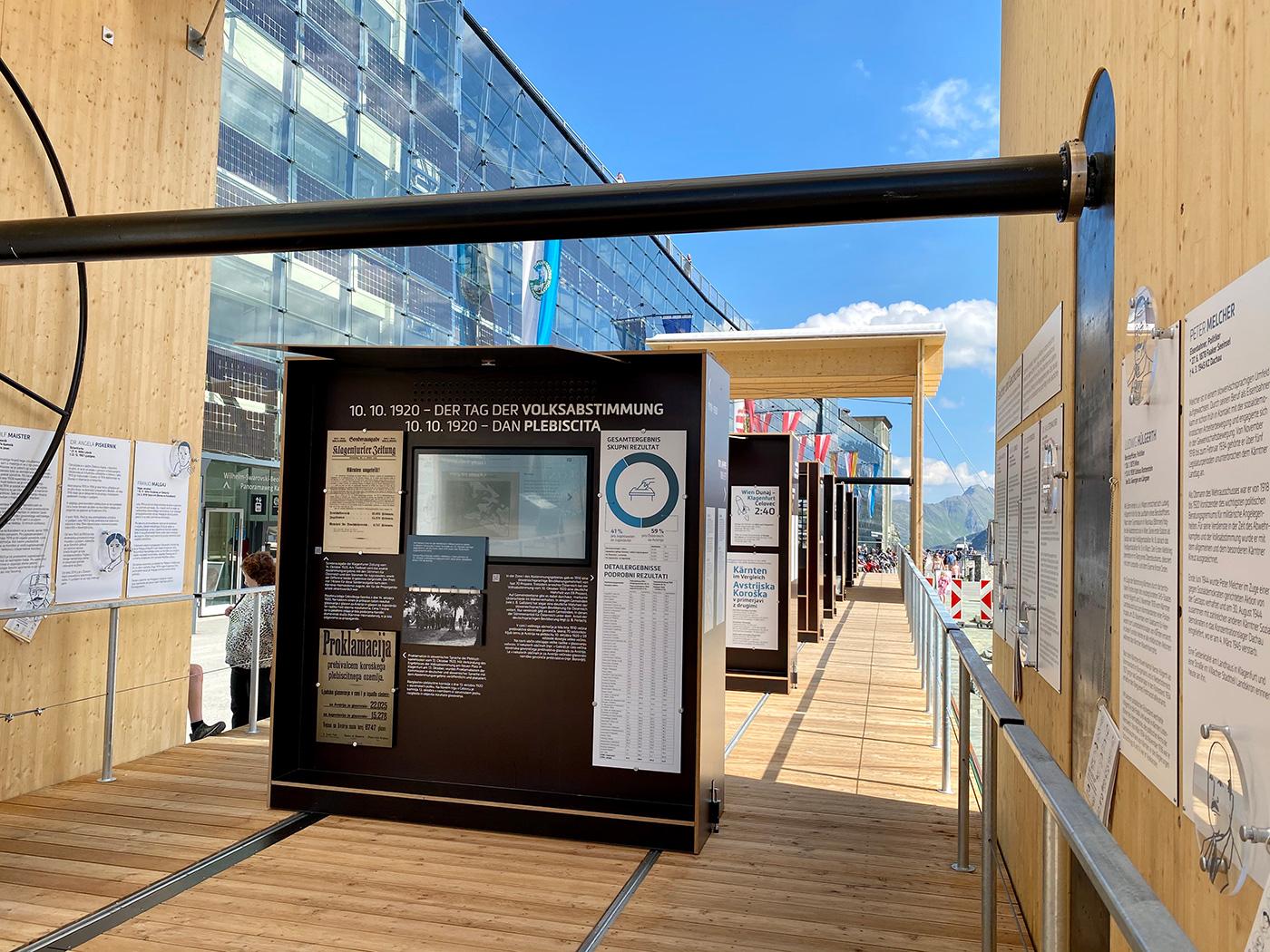 CARINTHIja - Ausstellungsmodule